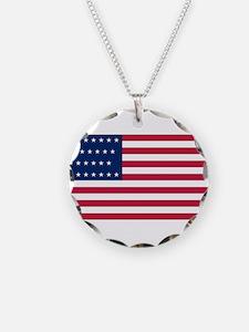 USA - 29 Stars - Final Version Necklace