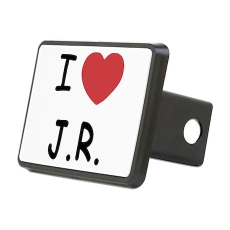 I heart J.R. Rectangular Hitch Cover