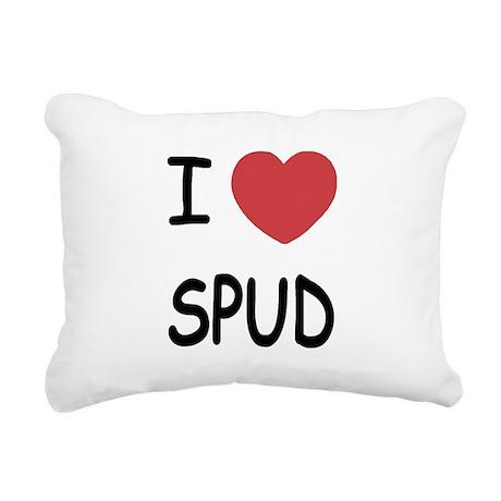 SPUD.png Rectangular Canvas Pillow
