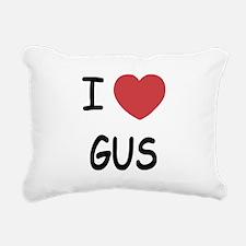 I heart GUS Rectangular Canvas Pillow