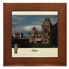 Olana Frederick Church Framed Tile