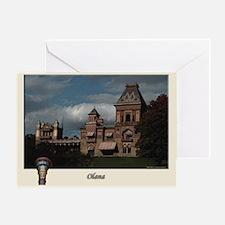 Olana Frederick Church Greeting Card