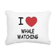 WHALEWATCHING.png Rectangular Canvas Pillow