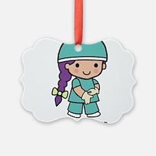 Future Surgeon girl Ornament