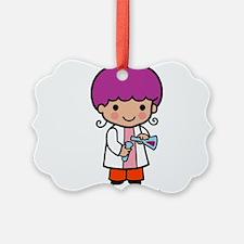 Future Scientist - girl Ornament