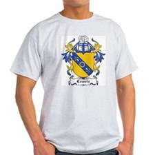 Comrie Coat of Arms Ash Grey T-Shirt