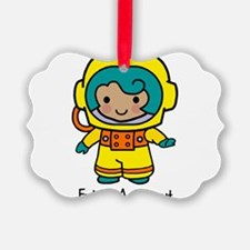 Future Astonaut - Girl Ornament