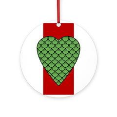 Midrealm Dragon's Heart medallion