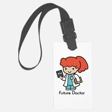 Future Doctor - girl Luggage Tag