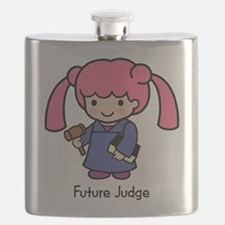 Future Judge - girl Flask
