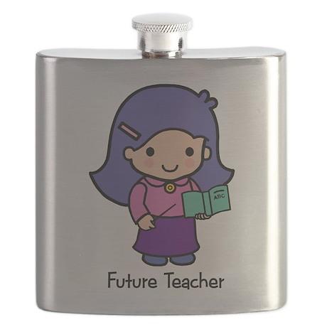 Future Teacher - girl Flask