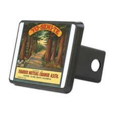 Yosemite Fruit Crate Label Hitch Cover