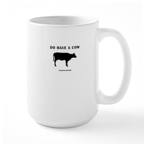 Do Have A Cow Large Mug