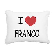 FRANCO.png Rectangular Canvas Pillow