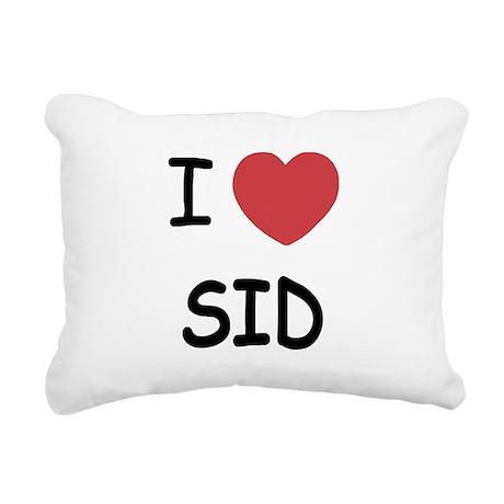 SID.png Rectangular Canvas Pillow
