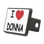 DONNA.png Rectangular Hitch Cover