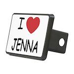 JENNA.png Rectangular Hitch Cover