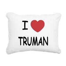 TRUMAN.png Rectangular Canvas Pillow