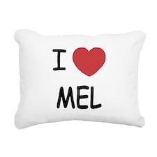MEL.png Rectangular Canvas Pillow