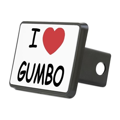 GUMBO.png Rectangular Hitch Cover