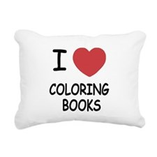 COLORING_BOOKS.png Rectangular Canvas Pillow