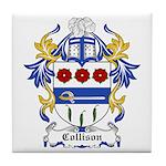 Collison Coat of Arms Tile Coaster