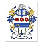 Collison Coat of Arms Small Poster