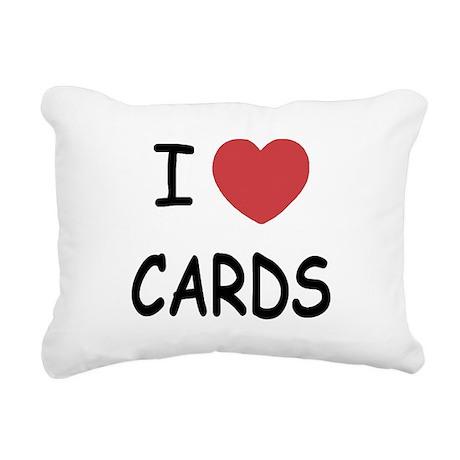 CARDS.png Rectangular Canvas Pillow