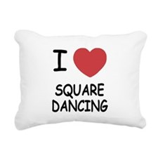 SQUARE_DANCING.png Rectangular Canvas Pillow