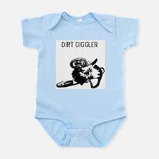 motocross dirt diggler Infant Bodysuit