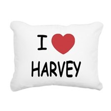 HARVEY.png Rectangular Canvas Pillow