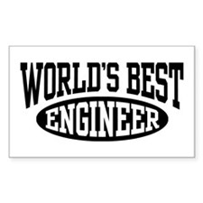 World's Best Engineer Decal