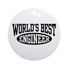 World's Best Engineer Ornament (Round)
