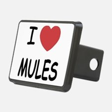 I heart mules Hitch Cover