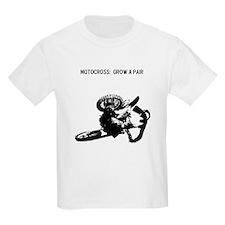 motocross grow a pair T-Shirt