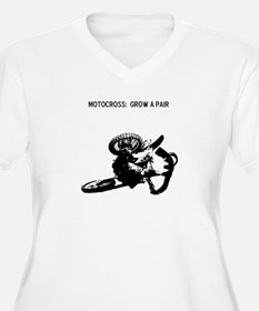 motocross grow a pair T-Shirt