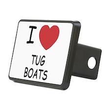 I heart tug boats Hitch Cover