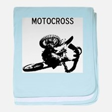 motocross baby blanket