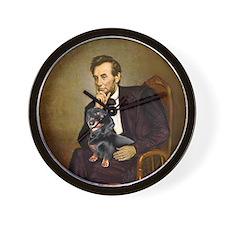 Lincolns Dachshund (BT) Wall Clock