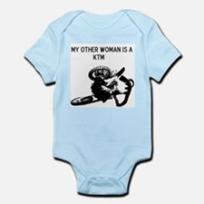 motocross my other woman is a ktm Infant Bodysuit