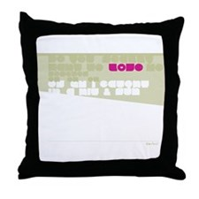 Straigh UP! Back Throw Pillow
