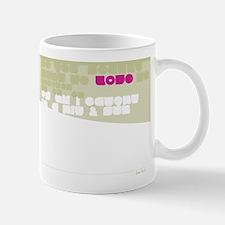 Straigh UP! Back Mug