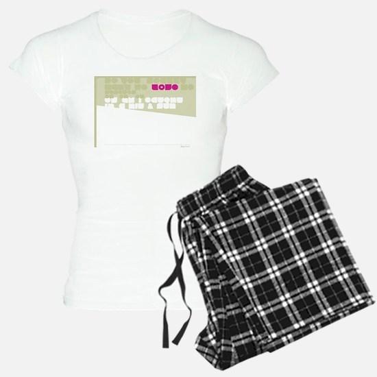 Straigh UP! Back Pajamas