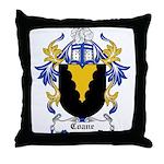 Coane Coat of Arms Throw Pillow