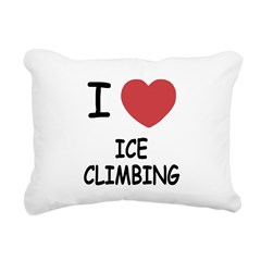 ICE_CLIMBING.png Rectangular Canvas Pillow