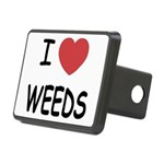 WEEDS.png Rectangular Hitch Cover