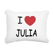 JULIA.png Rectangular Canvas Pillow