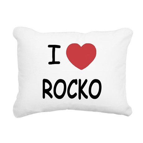 ROCKO.png Rectangular Canvas Pillow