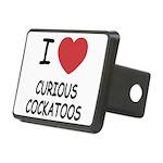 CURIOUSCOCKATOOS.png Rectangular Hitch Cover
