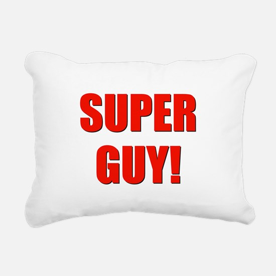 SUPERGUY.png Rectangular Canvas Pillow